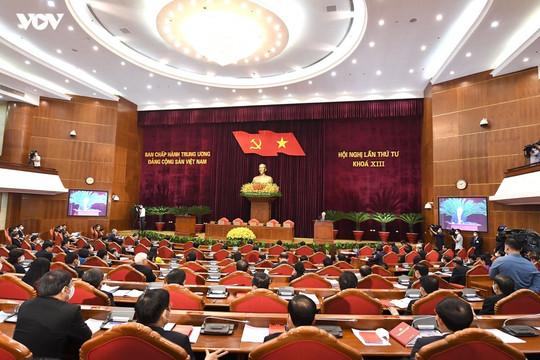 Bế mạc Hội nghị lần thứ 4 Ban Chấp hành Trung ương Đảng khoá XIII
