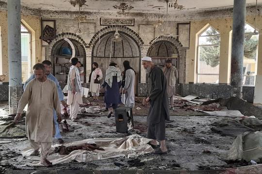 Đánh bom tại thánh đường Hồi giáo ở Afghanistan, ít nhất 100 người thương vong