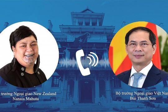 Việt Nam-New Zealand: Thúc đẩy hợp tác, phối hợp chuẩn bị Tuần lễ Cấp cao APEC 2021