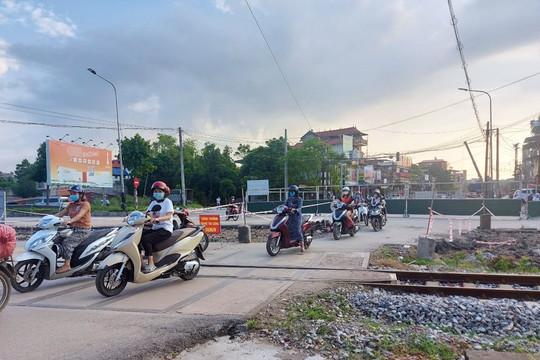 TP. Thái Nguyên: Phân luồng giao thông tạm thời ở khu vực Nút giao khác cốt đường Thống Nhất và đường Việt Bắc