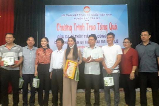 Bộ Công an yêu cầu xác minh hoạt động từ thiện của ca sĩ Thủy Tiên tại Quảng Nam