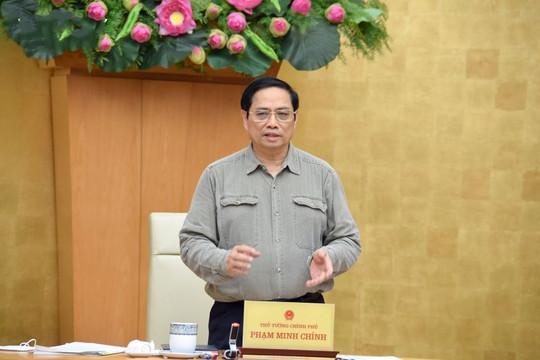 Thủ tướng chủ trì họp 63 tỉnh, thành về công tác phòng, chống dịch Covid-19