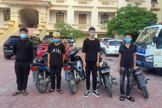 TP.Thái Nguyên: Gần 370 trường hợp vi phạm Luật Giao thông đường bộ