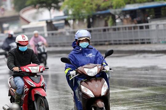 Hà Nội thời tiết chuyển lạnh, bão số 7 gây mưa lớn diện rộng