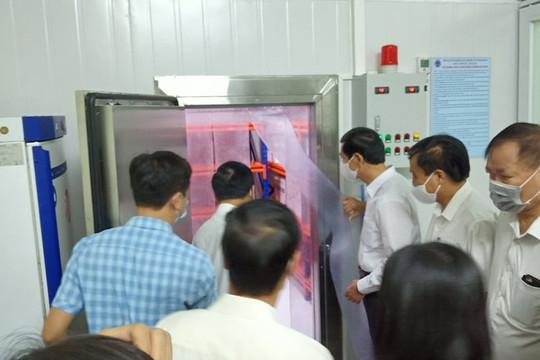 Thái Bình: Kho lạnh bảo quản 1 triệu liều vắc xin ngừa COVID-19 được đưa vào sử dụng