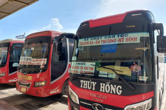 Hà Nội khôi phục lại 7 tuyến xe khách liên tỉnh