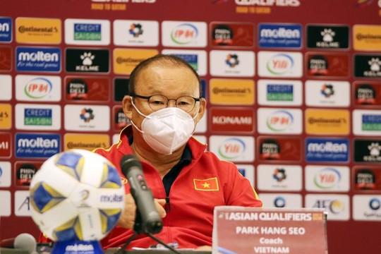 HLV Park Hang-seo: 'Tuyển Việt Nam cần thêm thời gian để tích luỹ kinh nghiệm'