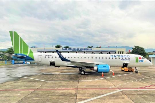 Bamboo Airways khai trương đường bay thẳng Hà Nội/TP Hồ Chí Minh - Điện Biên