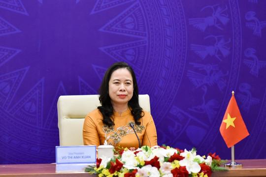 Phó Chủ tịch nước Võ Thị Ánh Xuân tham dự Diễn đàn Phụ nữ Á-Âu lần thứ III