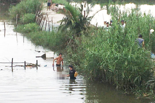 Phát hiện thi thể nổi trên sông Cổ Cò khi đi bắt cá