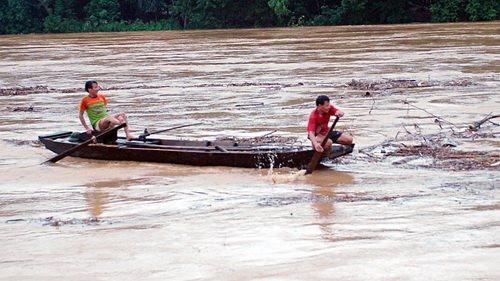 Lũ lên trên sông Thao lên nhanh, nguy cơ cao xảy ra lũ quét, sạt lở đất