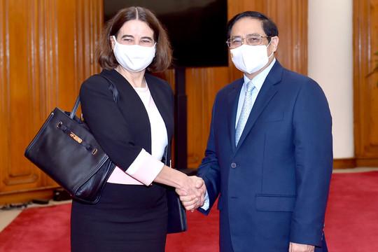 Thủ tướng cảm ơn Australia cam kết hỗ trợ tổng cộng 5,2 triệu liều vaccine cho Việt Nam