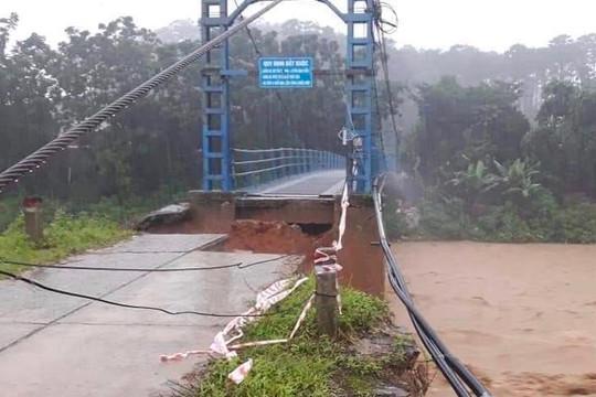 Trung Bộ tiếp tục mưa lớn, đề phòng lũ quét và sạt lở đất