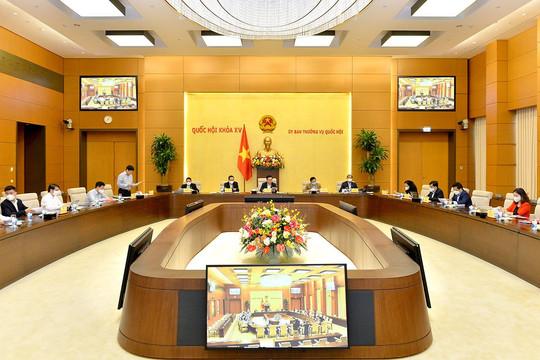 Chủ tịch Quốc hội làm việc với các cơ quan về chuẩn bị Kỳ họp thứ 2