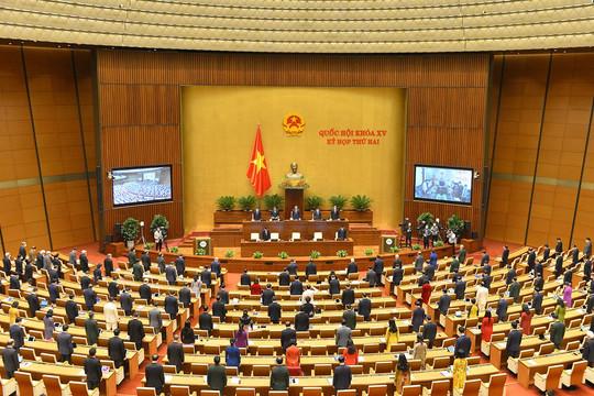 Kỳ họp thứ 2, Quốc hội Khóa XV chính thức khai mạc