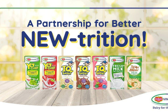 Liên doanh của Vinamilk ra mắt sản phẩm tại Philippines đặt mục tiêu chiếm 10% thị phần sữa