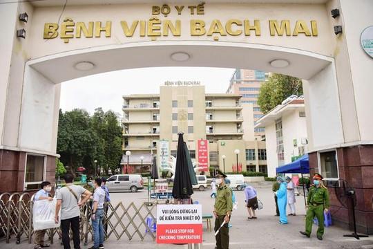 Bộ Y tế giao nhân sự phụ trách Bệnh viện Bạch Mai thay ông Nguyễn Quang Tuấn