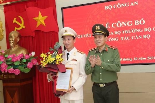 Điều động Giám đốc Công an tỉnh Trà Vinh làm Cục trưởng Cục An ninh điều tra