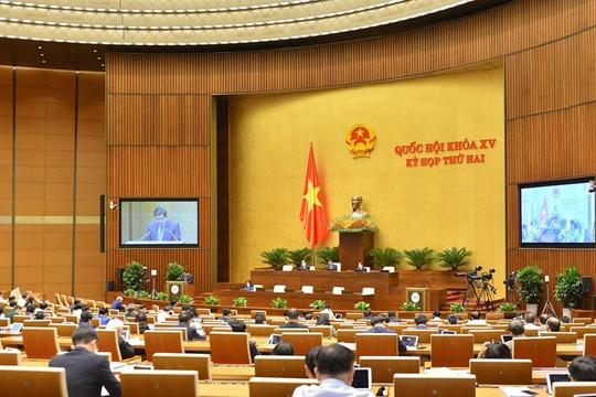 Quốc hội thảo luận về phát triển kinh tế - xã hội