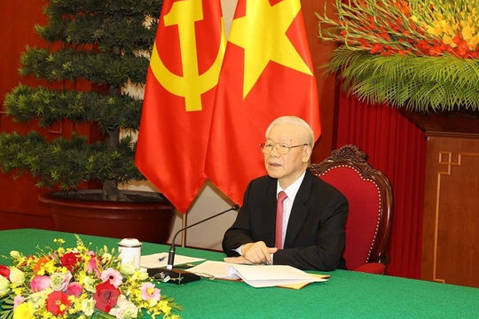 Tổng Bí thư Nguyễn Phú Trọng gửi thông điệp tới Tổng Bí thư Đảng Lao động Mexico