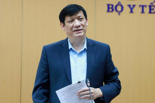 Bộ trưởng Bộ Y tế: Nguy cơ bùng phát dịch cao, nâng mức độ cảnh giác